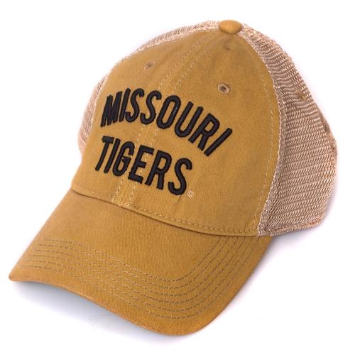 super popular 6626f f60c0 Missouri Tigers Yellow Trucker Hat