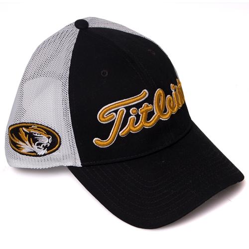 36a496cf The Mizzou Store - Mizzou Titleist Black Trucker Hat