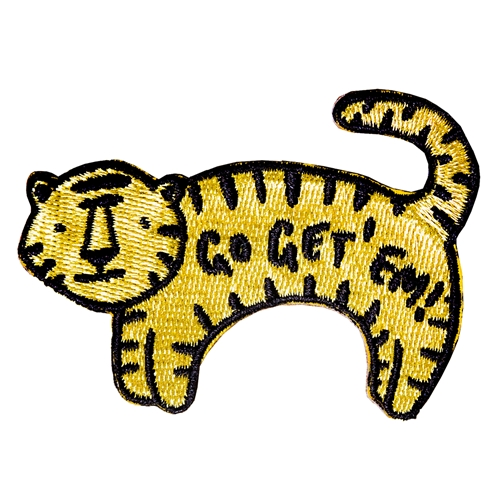 "Mizzou ""Go Get 'Em"" Tiger Embroided Patch"