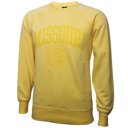 Missouri Seal Yellow Sweatshirt