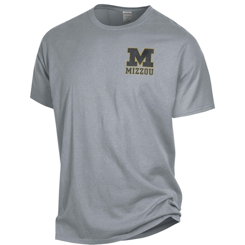 Missouri Tigers Columns Light Grey T-Shirt