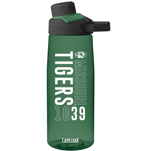 Missouri Tigers 1839 Camelbak Chute Dark Green Water Bottle