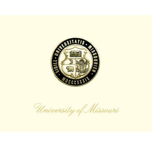 Mizzou Note Cards - Blank With Seal Set of 10