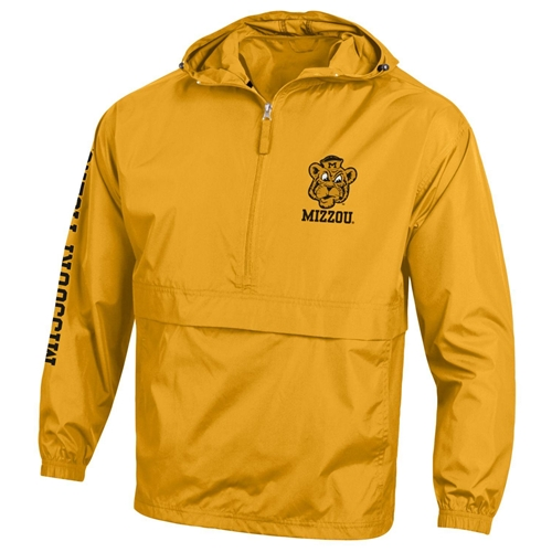Mizzou Beanie Tiger Champion Gold Packable Jacket