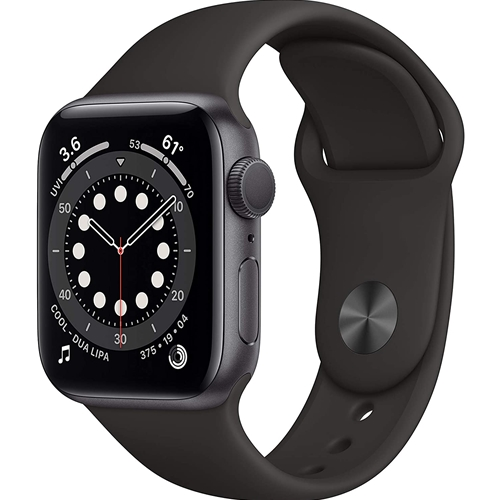 Apple Watch 6 GPS 44mm Aluminum Case with Sport Band