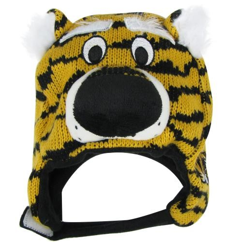 Mizzou Infant Truman Black & Gold Knit Beanie