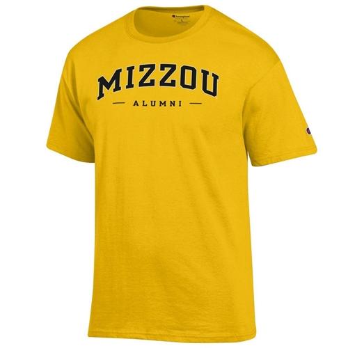 af36c4761 The Mizzou Store - Mizzou Alumni Gold Crew Neck T-Shirt