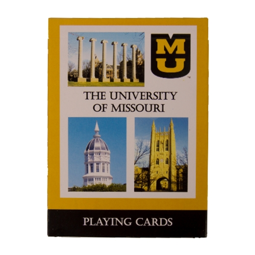 University of Misssouri Playing Cards