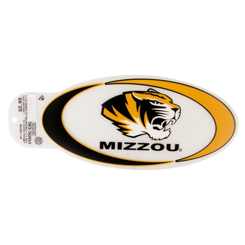 Mizzou Tiger Head Swish Decal