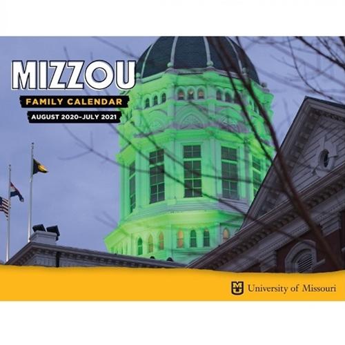 University Of Missouri Calendar 2020 The Mizzou Store   2019 20 Mizzou Family Calendar